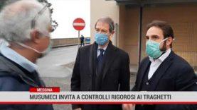 Messina. Musumeci invita a controlli rigorosi ai traghetti