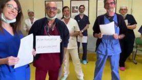 Nasce l'inno dei medici contro il coronavirus