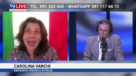 ON. CAROLINA VARCHI DEPUTATO IN DIRETTA SU TELE ONE IN 19 LIVE