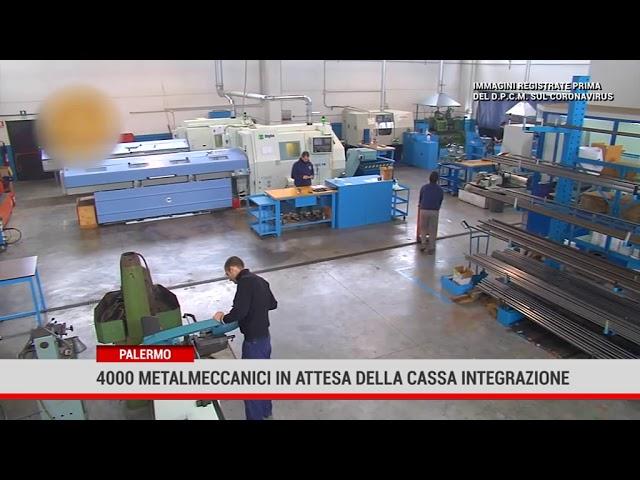 Palermo. 4000 metalmeccanici in attesa della cassa integrazione