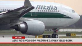 Palermo. Aerei più spaziosi da Palermo e Catania verso Roma