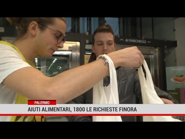 Palermo. Aiuti alimentari, 1800 le richieste finora