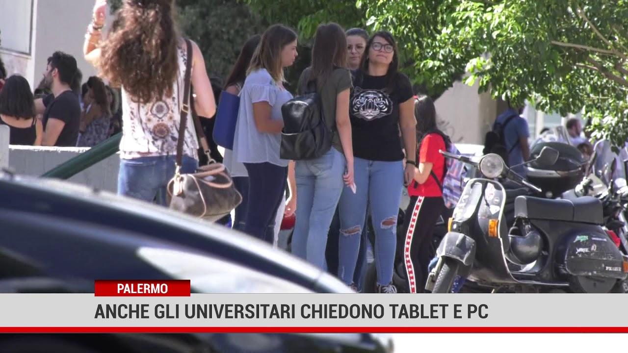 Palermo. Anche gli universitari chiedono Tablet e Pc