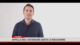 Palermo. Appello M5S: distribuire gratis le mascherine
