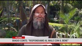 """Palermo. Biagio Conte: """" Rispondiamo al male con il bene """""""