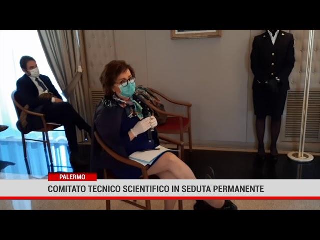 Palermo. Comitato tecnico scientifico in seduta permamente