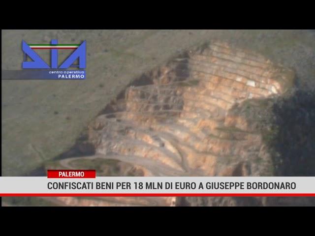 Palermo. Confiscati beni per 18 mln di euro a Giuseppe Bordonaro