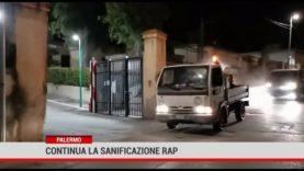 Palermo. Continua la sanificazione RAP