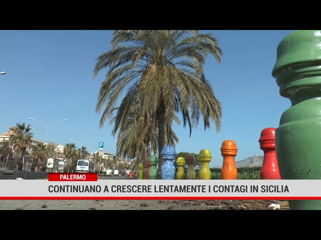 Palermo. Continuano a crescere lentamente i contagi in Sicilia