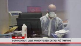Palermo. Coronavirus: lieve aumento dei contagi, più tamponi