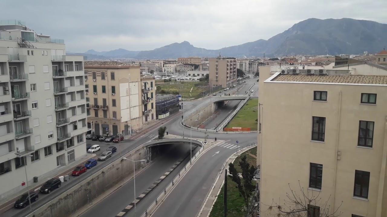 Palermo deserta, strade vuote