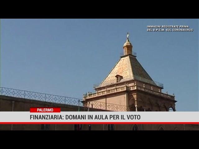 Palermo. Finanziaria: domani in aula per il voto