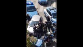 Palermo fugge a posto di blocco e viene arrestato dopo un rocambolesco inseguimento a tutta velocità