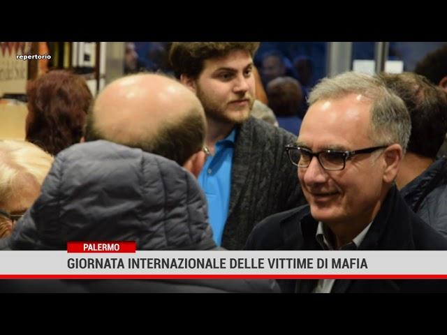 Palermo. Giornata internazionale delle vittime di  mafia