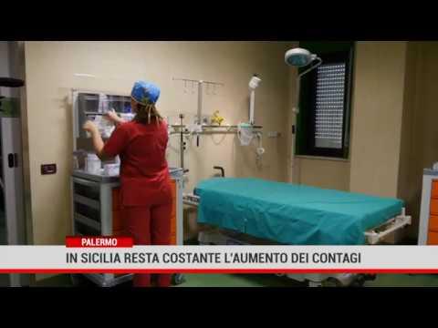 Palermo. In Sicilia resta costante l'aumento dei contagi