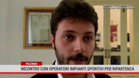 Palermo. Incontro con operatori impianti sportivi per ripartenza