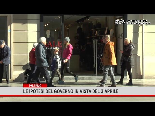 Palermo. Le ipotesi del Governo in vista del 3 aprile