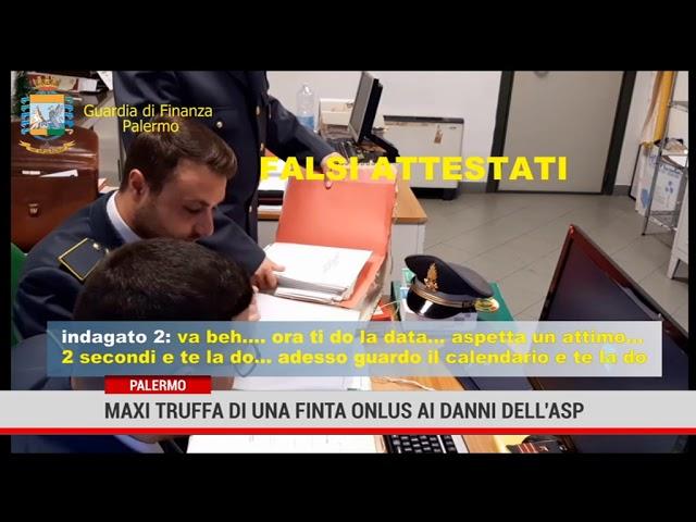 Palermo. Maxi truffa di una finta Onlus ai danni dell' Asp