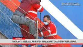 Palermo. Migranti della Alan Kurdi in quarantena su un'altra nave