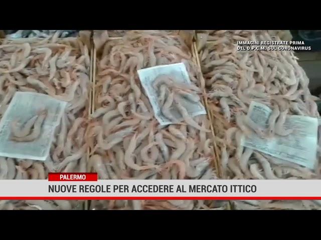 Palermo.Nuove regole per accedere al Mercato Ittico