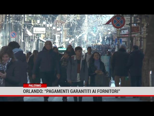"""Palermo. Orlando: """" Pagamenti garantiti ai fornitori"""""""