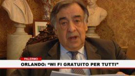 """Palermo. Orlando: """" Wifi gratuito per tutti """""""