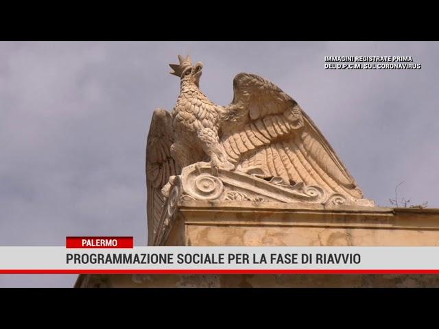 Palermo. Programmazione sociale per la fase di riavvio