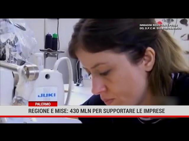 Palermo. Regione e MISE: 430 milioni per supportare le imprese