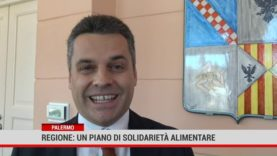 Palermo. Regione: un piano di solidarietà alimentare