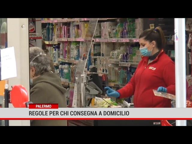 Palermo. Regole per chi consegna a domicilio