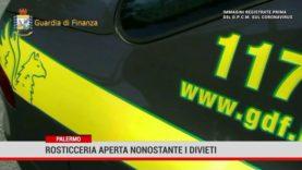 Palermo. Rosticceria aperta nonostante i divieti