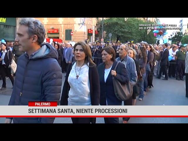 Palermo. Settimana Santa, niente processioni