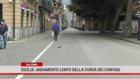 Palermo. Sicilia: andamento lento della curva dei contagi