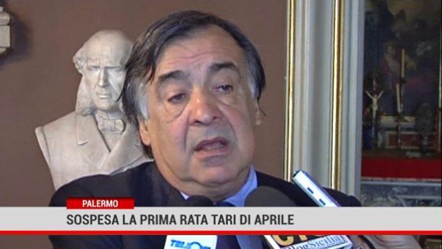 Palermo. Sospesa la prima rata Tari di aprile