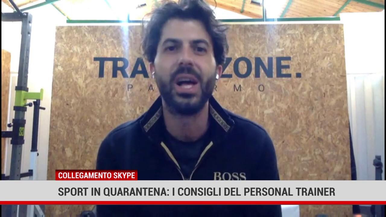 Palermo. Sport in quarantena: I Consigli del personal trainer