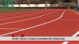 Palermo. Sport: tavolo tecnico con ministro Spadafora