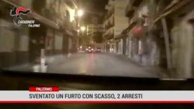 Palermo. Sventato un furto con scasso, 2 arresti