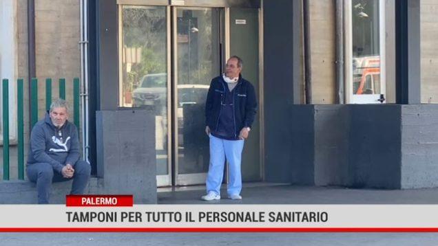 Palermo. Tamponi per tutto il personale sanitario