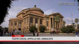 Palermo. Teatri chiusi, appello del sindacato
