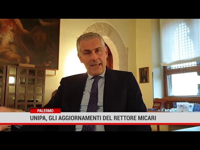 Palermo. Unipa, gli aggiornamenti del Rettore Micari