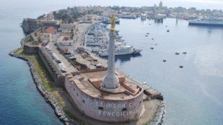 Messina- Madonnina del Porto- zona falcata