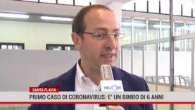 Primo caso di coronavirus a Santa Flavia, in ospedale un bambino di 6 anni