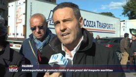 """Protesta contro il """"caro navi"""": bloccati i porti di Palermo, Catania e Termini"""
