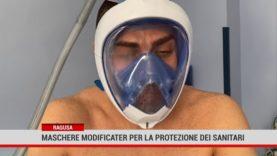 Ragusa. Maschere modificate per la protezione del personale sanitario