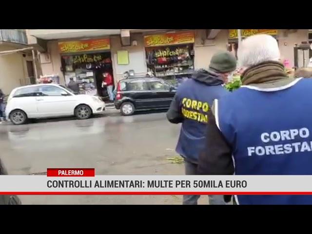 Regione siciliana. Controlli alimentari: multe per 50 mila euro