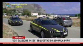 Ricavi non dichiarati per un'azienda di gestione rifiuti, sequestro 250 mila euro a Partinico