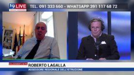 ROBERTO LAGALLA IN DIRETTA SU TELE ONE IN 19 LIVE SUL CANALE 19