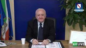 Sfogo del Governatore della Campania De Luca contro i cittadini