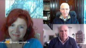 SICILIA SERA con il Magistrato Marina PETRUZZELLA e con l'Architetto Flavio CASGNOLA