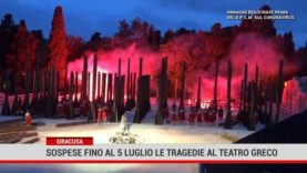 Siracusa. Sospese fino al 5 luglio le tragedie al teatro greco